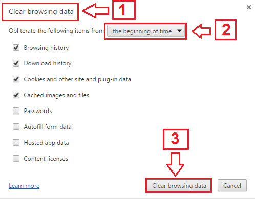 How to Clear Browser History in Google Chrome | Book Rail