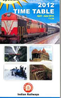 Train Time Table Book
