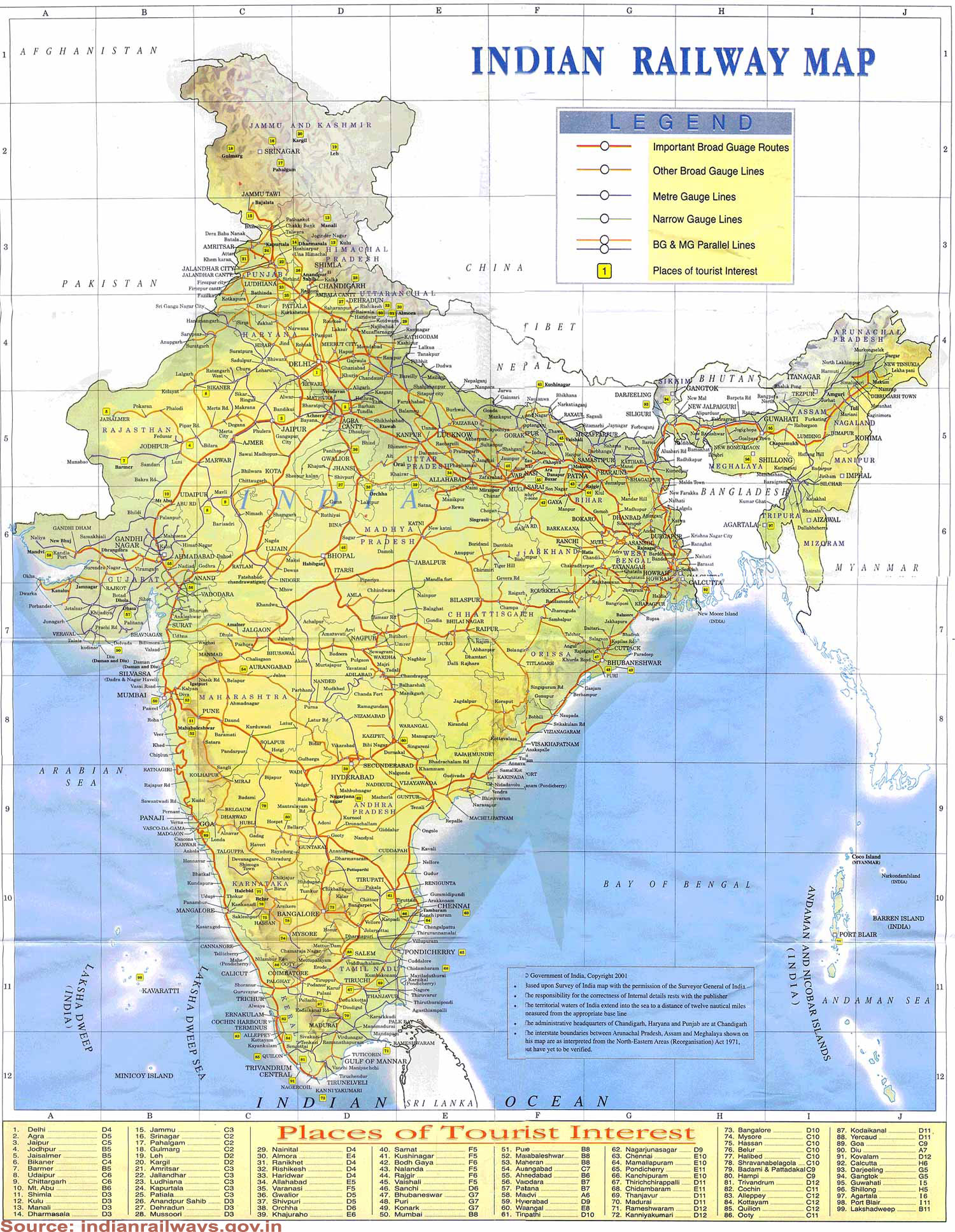 india railway map pdf download Download All India Railways Map Book Rail Ticket India india railway map pdf download